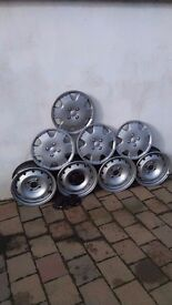 Wheels and wheel covers