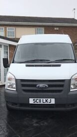 LWB semi high roof 12 months full test new tyres Great van ready for work