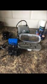 Air Brush Gun with extras!