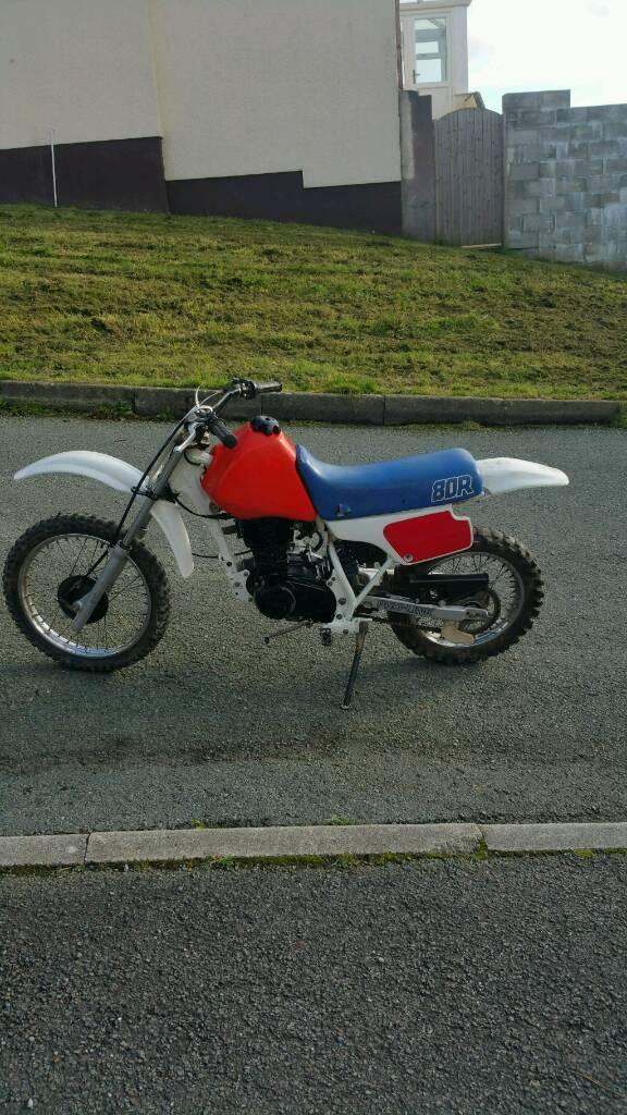 Honda xr80r project