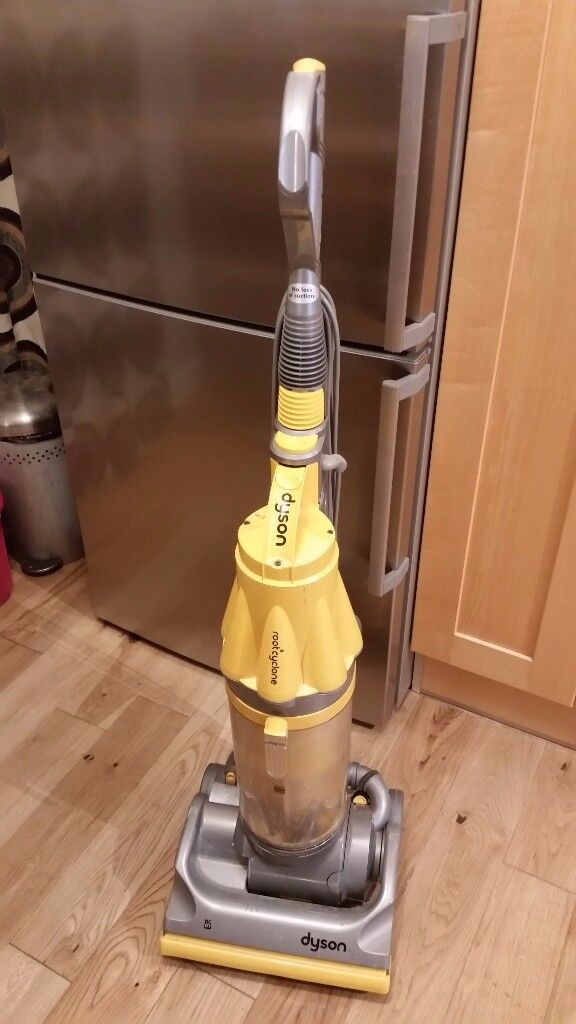 DYSON DC07 - ORIGINAL YELLOW - UPRIGHT VACUUM CLEANER *ONE OF THE BEST FOR PETS!*