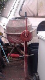 Cement/concrete mixer 240 volt electric good working order