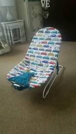 Mamas and papas baby bouncer vibrating chair