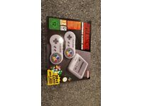 Super Nintendo (SNES) Mini Classic, Brand New