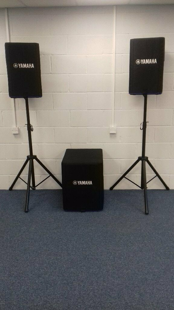Yamaha DXR12 / DXS15 | in Romsey, Hampshire | Gumtree