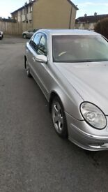 For sell my Mercedes E220 2004