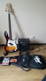 Peavey bass guitar set