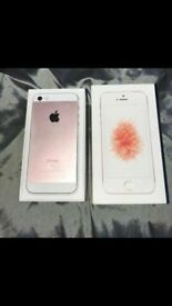 selling i phone se used but very good condition on ee network