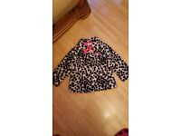 DISNEY STORE 101 DALMATIONS 5/6 YEARS FLUFFY COAT £20 ONO