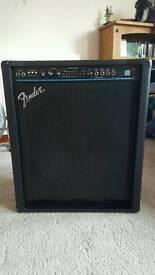 Fender BXR Bass Combo. Made in USA. Swap cab