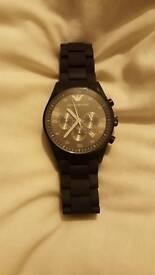 Armani watch quick sale