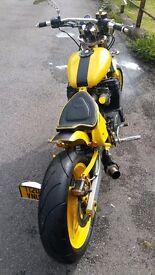 600cc custom chopper bandit