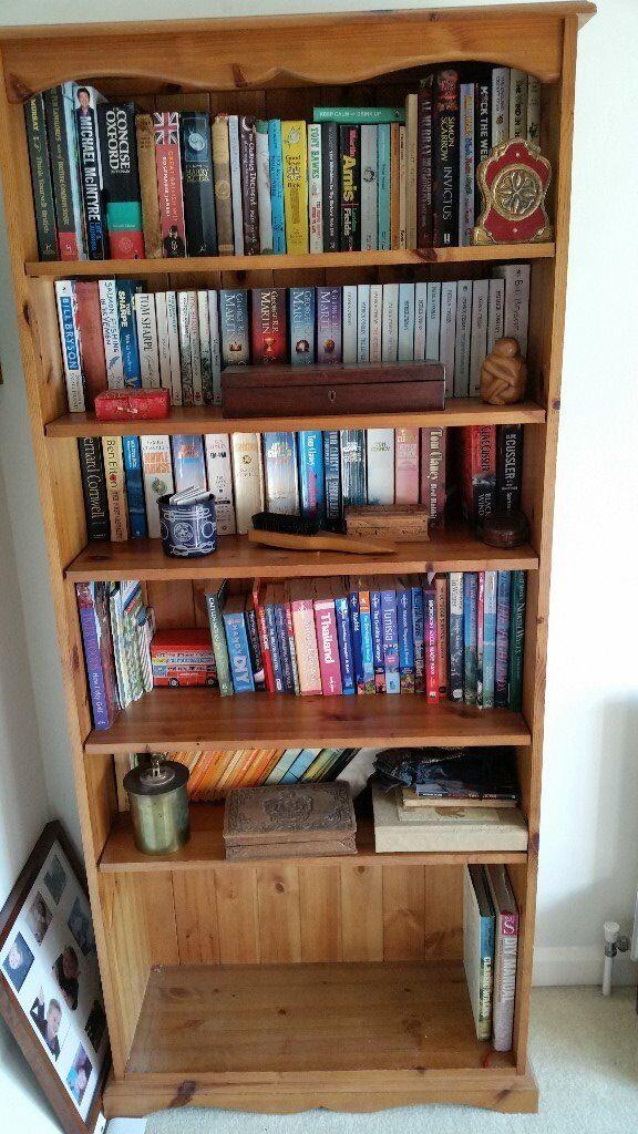 Solid Pine Bookshelf For Sale