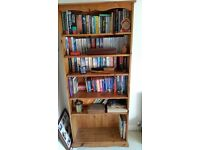 Solid Pine Bookshelf for Sale