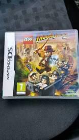 Lego Indiana Jones 2 Nintendo DS.