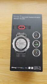 Used Garmin Fenix 3 with HRM-Run Bundle