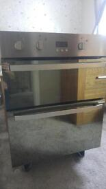 HOTPOINT UHS53XS DOUBLE OVEN
