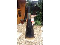 Garden patio/ tall garden chimnia