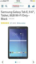 Samsung tablet new