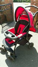 Chicco pram completed with everything