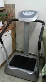 Vibration plate. Shake fit machine. Fully working
