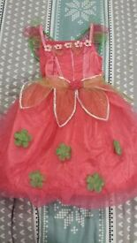 Dress up costume 9-10y but more like 6-7y