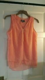 Peach top size 12