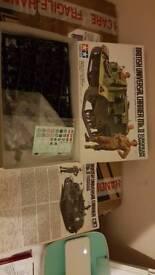 New tamiya British universal carrier model kit