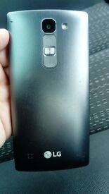 LG Spirit mobile phone. Locked to 3. Has a scratch across the screen