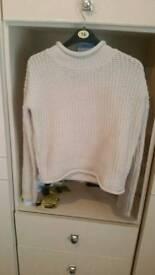 Primark womens cream jumper