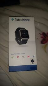 New, unused Fitbit Blaze