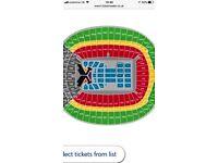 2 x Taylor swift concert tickets floor seating