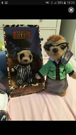 Compare the meerkat plush