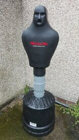 Vulcan Boxing Sparring Partner Free Standing Punch Bag