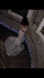 Lillian West wedding dress in ivory in prefect condition