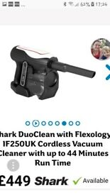 BNIB SHARK DUO CLEAN TOP OF RANGE VAC current price £449 UNWANTED GIFT