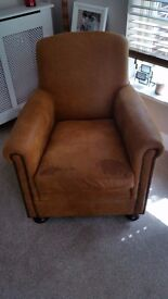 Brand new Tetrad Prince Outback Leather Chair