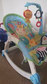 Fisher price rocking & static chair