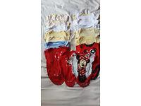 0-3 baby girl vests