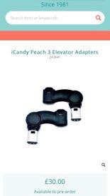 iCandy elevator adaptors brand new