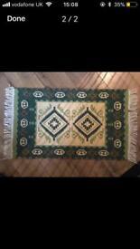 Vintage Aztec reversible mat