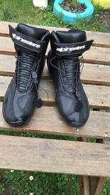 All star motorbike boots