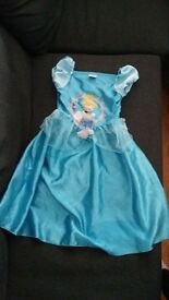 Disney Cinderella dress age 3-4 years