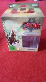 Wii u zelda twilight princess limited edition boxed set