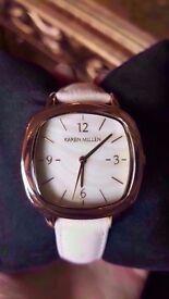 New - Karen Millen Watch - Cream/Gold - original