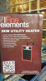 Fine Elements Utility Heavy Duty Heater