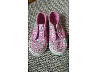Hello kitty vans toddler Size 7