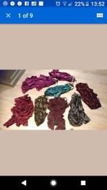 Huge Bundle of Costume Jewellery and Scarves Bargain