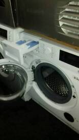 SALE SALE OFFER ENDS SOON white beko intergrated washer dryer for sale was £350 now £300