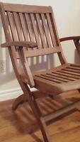 Wooden chair - quality wood